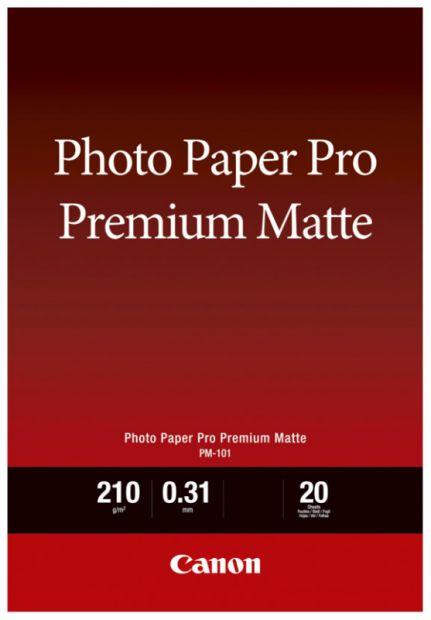 Papier CANON Pro Premium Matte PM-101 210 g/m2 - A4, 20 arkuszy (8657B005)
