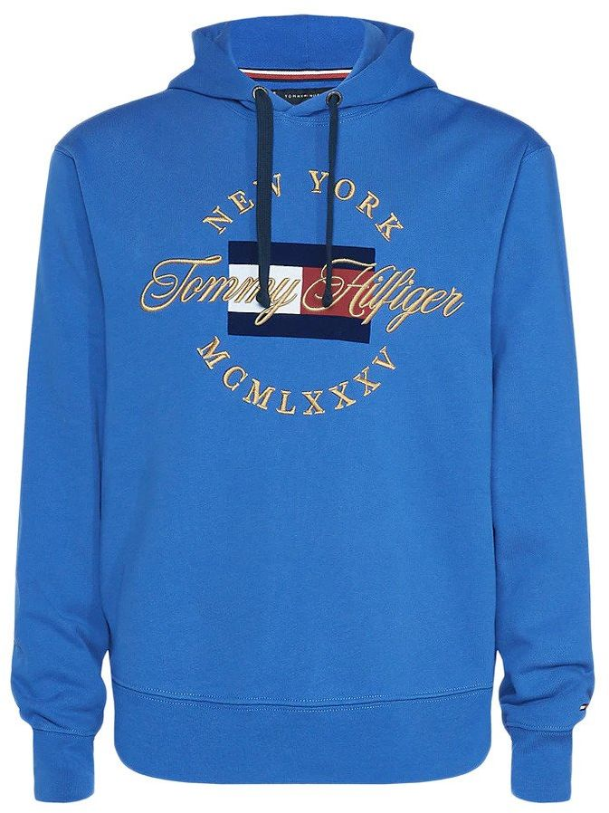 Bluza z kapturem Tommy Hilfiger Icon Artwork - MW0MW10064-448 - Nowy