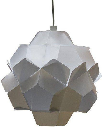 Lampa berga biało-mleczna