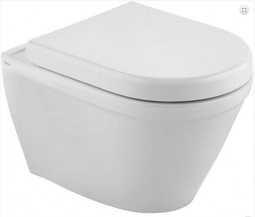 Miska WC wisząca CLAUDIA bezkołnierzowa RIMLESS