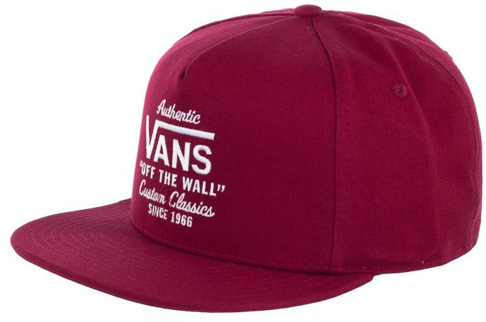 Czapka z daszkiem Vans Wabash Snapback Rhumba Red VN0A36I8TD21 (VA257-a)
