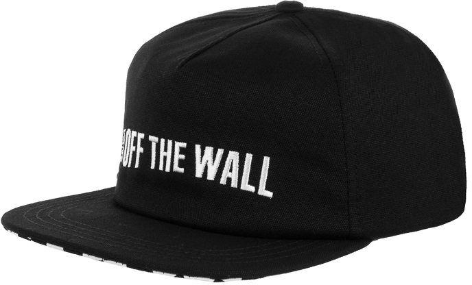 Czapka z daszkiem Vans Central Hat Black VN0A3WF7BLK1 (VA259-a)