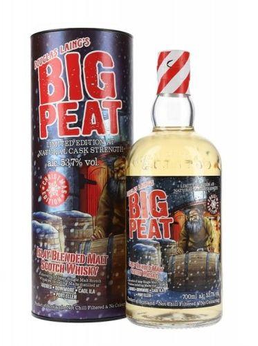 Whisky Big Peat 53,7% 0,7l Christmas Edition 2019