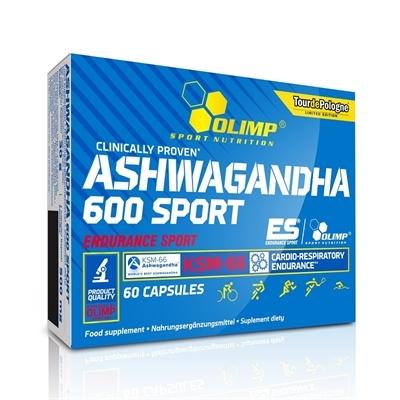 ASHWAGANDHA 600 Sport 60caps