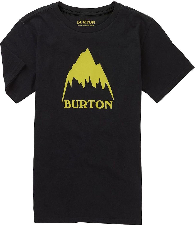 t-shirt dziecięcy BURTON BOYS CLASSIC MOUNTAIN HIGH SS True Black