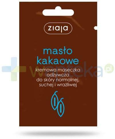 Ziaja Masło Kakaowe kremowa maseczka odżywcza 7 ml