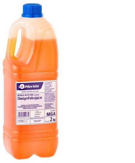 Mydło w płynie dezynfekujące 2 kg