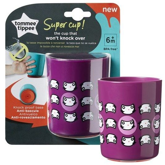 Kubek Super Cup 6m+ Cat Tommee Tippee