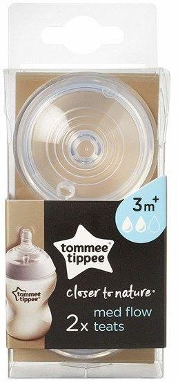 Smoczek Tommee Tippee 3m+ średni przepływ