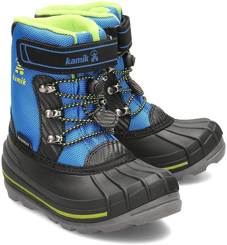 Kamik Chuck - Śniegowce Dziecięce - NF4149 BLU - Niebieski