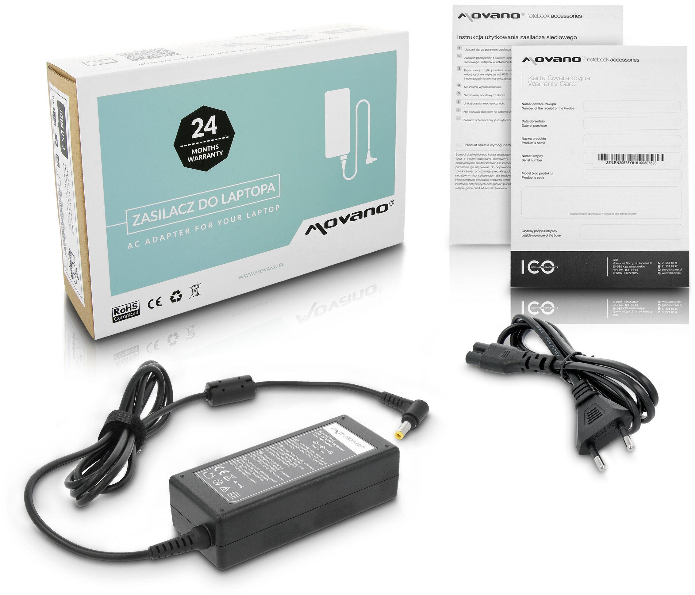 Zasilacz ładowarka do Fujitsu-Siemens Amilo / Amilo Pro V2040
