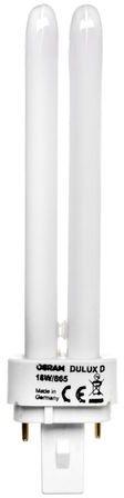 Świetlówka kompaktowa GX24d-2 (2-pin) 18W 6500K DULUX D 4050300487120