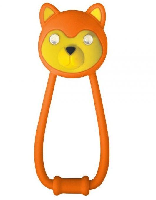 Lampka przednia Kellys Teddy pomarańczowa