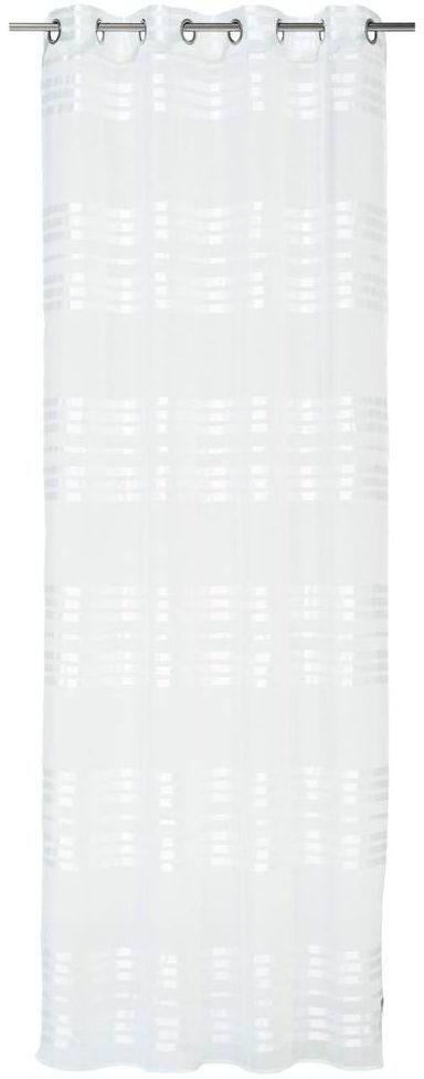 Firana na przelotkach NASTRI 140 x 260 cm biała INSPIRE