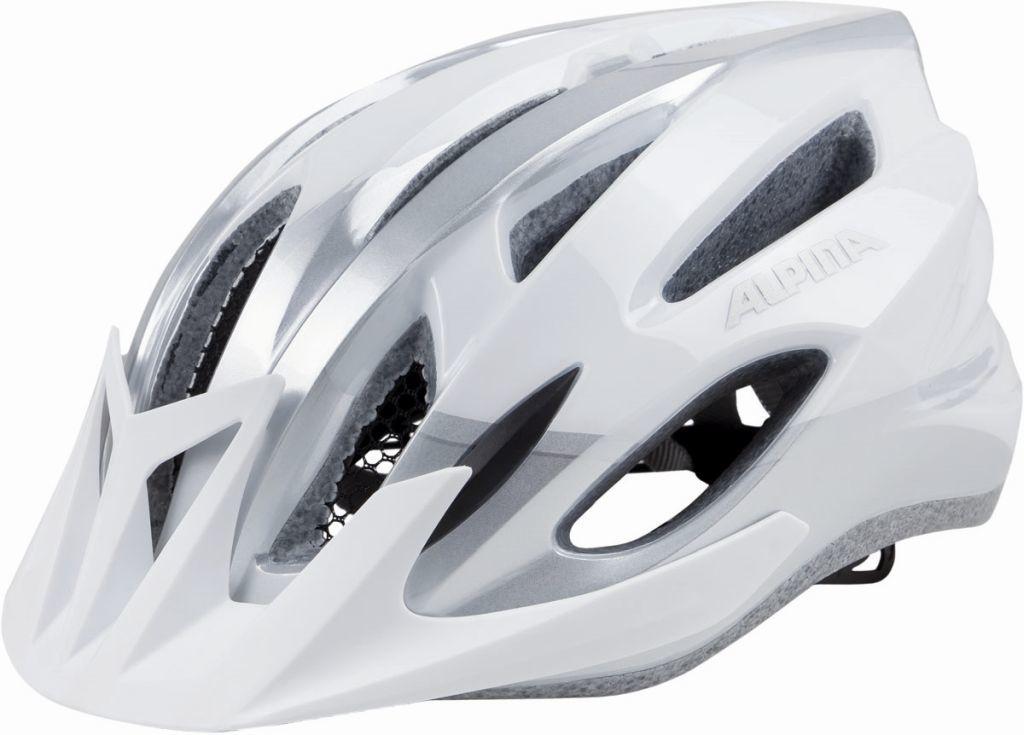 Kask rowerowy ALPINA MTB17 WHITE-SILVER Rozmiar: 54-58,mtb17whitesilver