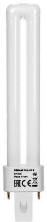 Świetlówka kompaktowa G23 (2-pin) 9W 2700K DULUX S 4050300006000
