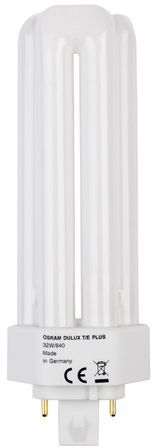 Świetlówka kompaktowa GX24q-3 (4-pin) 32W 4000K DULUX T/E PLUS 4050300348568