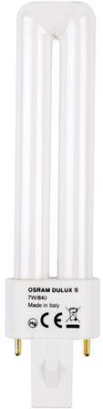 Świetlówka kompaktowa G23 (2-pin) 7W 4000K DULUX S 4050300010571