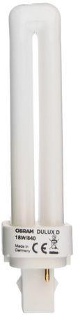 Świetlówka kompaktowa G24d-2 (2-pin) 18W 4000K DULUX D 4050300012056
