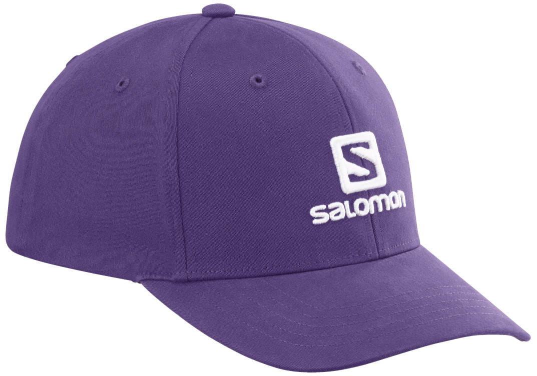 Czapka Salomon Logo Grape