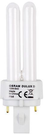 Świetlówka kompaktowa G24d-1 (2-pin) 10W 4000K DULUX D 4050300010595