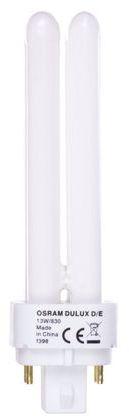 Świetlówka kompaktowa G24q-1 (4-pin) 13W 3000K DULUX D/E 4050300389059