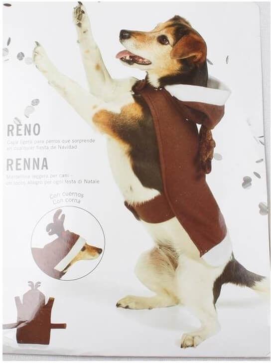 Kostium Renifer dla pieska - Roz. S