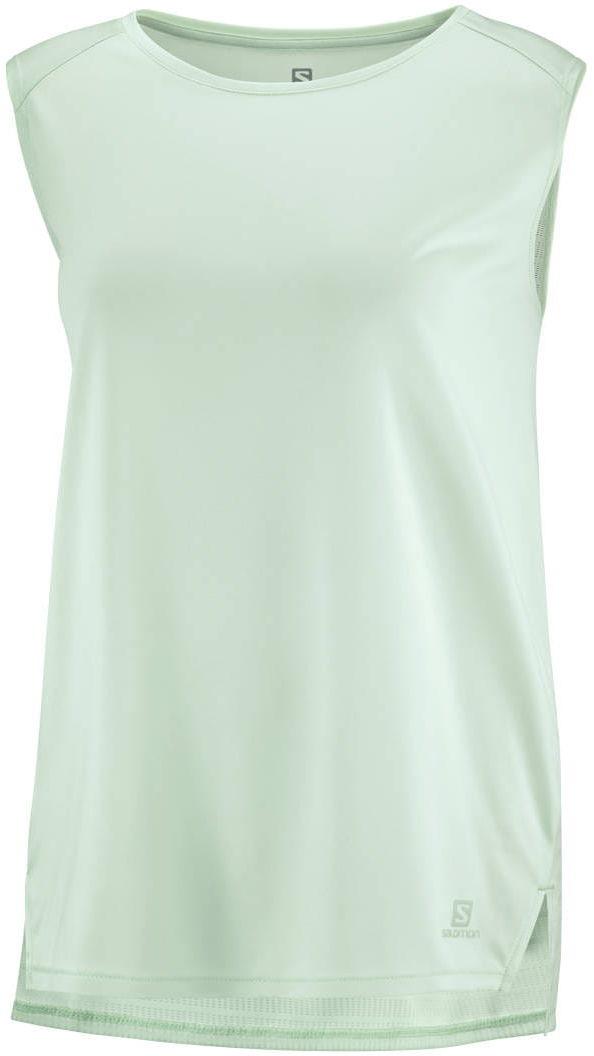 Koszulka Salomon Outline Summer Tank W Opal Blue