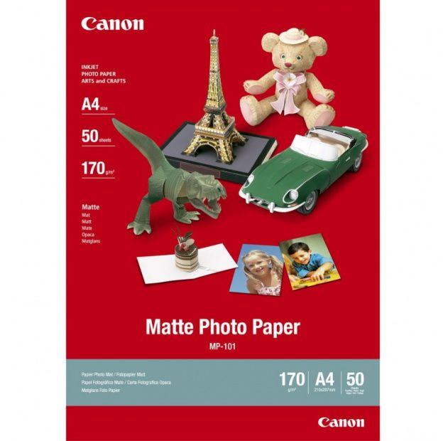 Canon Matte Photo Paper MP-101 170 g/m2 50ark. (A4) (7981A005)