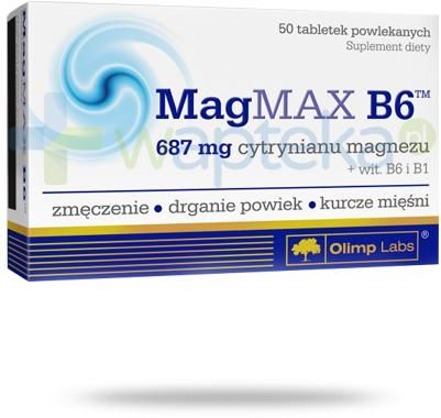 Olimp MagMax B6 687mg 50 tabletek