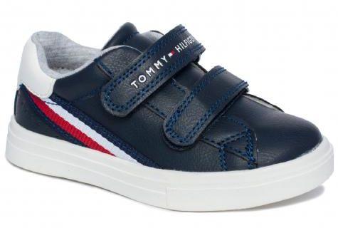 Tommy Hilfiger 30699 sneakersy półbuty trampki trzewiki dziecięce blue white