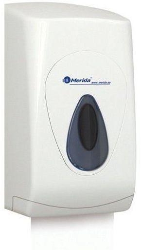 Pojemnik na papier toaletowy w listkach Merida Top, okienko szare