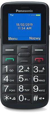 Telefon komórkowy PANASONIC KX-TU110EXB Czarny. Kup taniej o 40 zł dołączając do Klubu