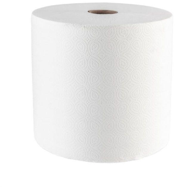 Czyściwo papierowe Merida top 29, długość 250 m, dwuwarstwowe, białe, zgrzewka 2 sztuki
