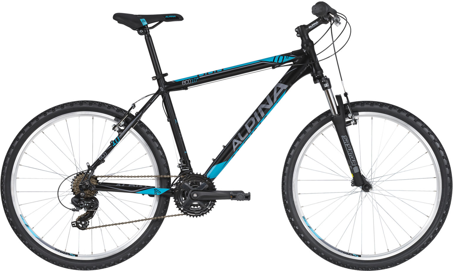 "Rower Alpina ECO M10 BLACK 26"" 2021"