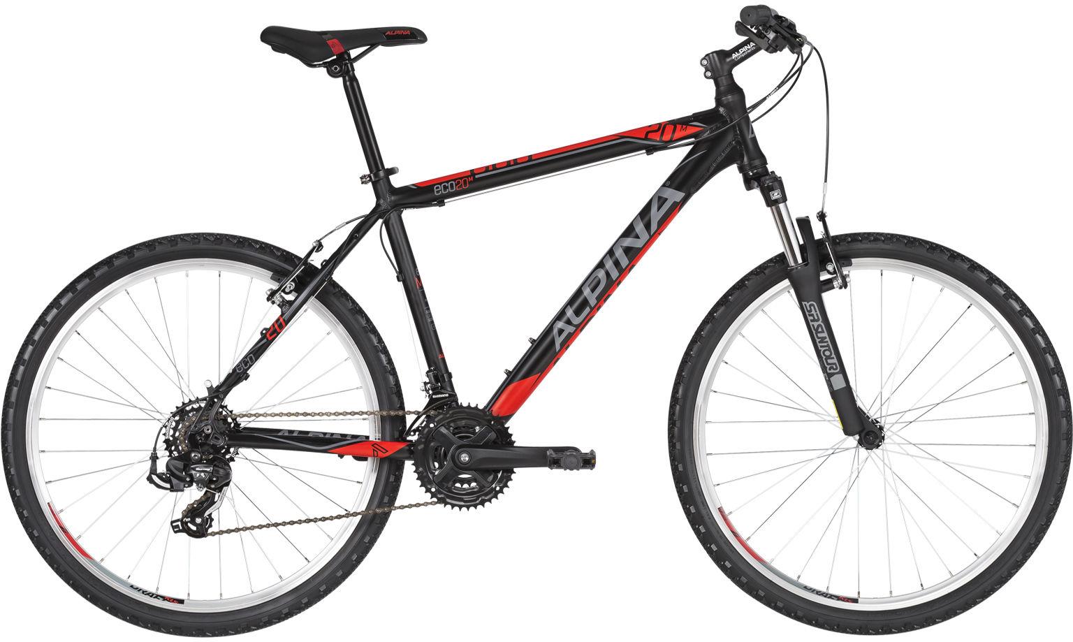 "Rower Alpina ECO M20 BLACK 26"" 2021"