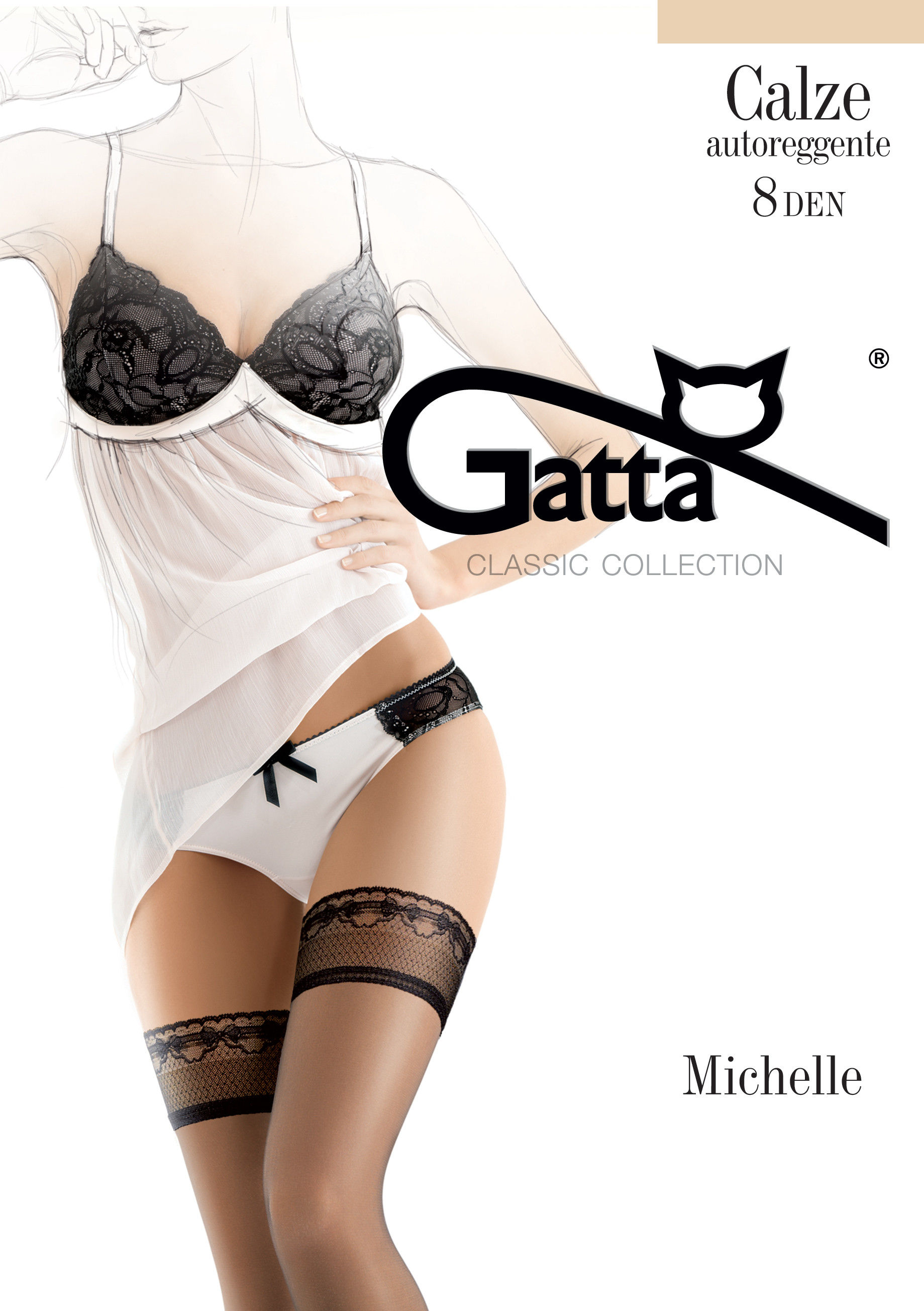Gatta Michelle 4 Nero
