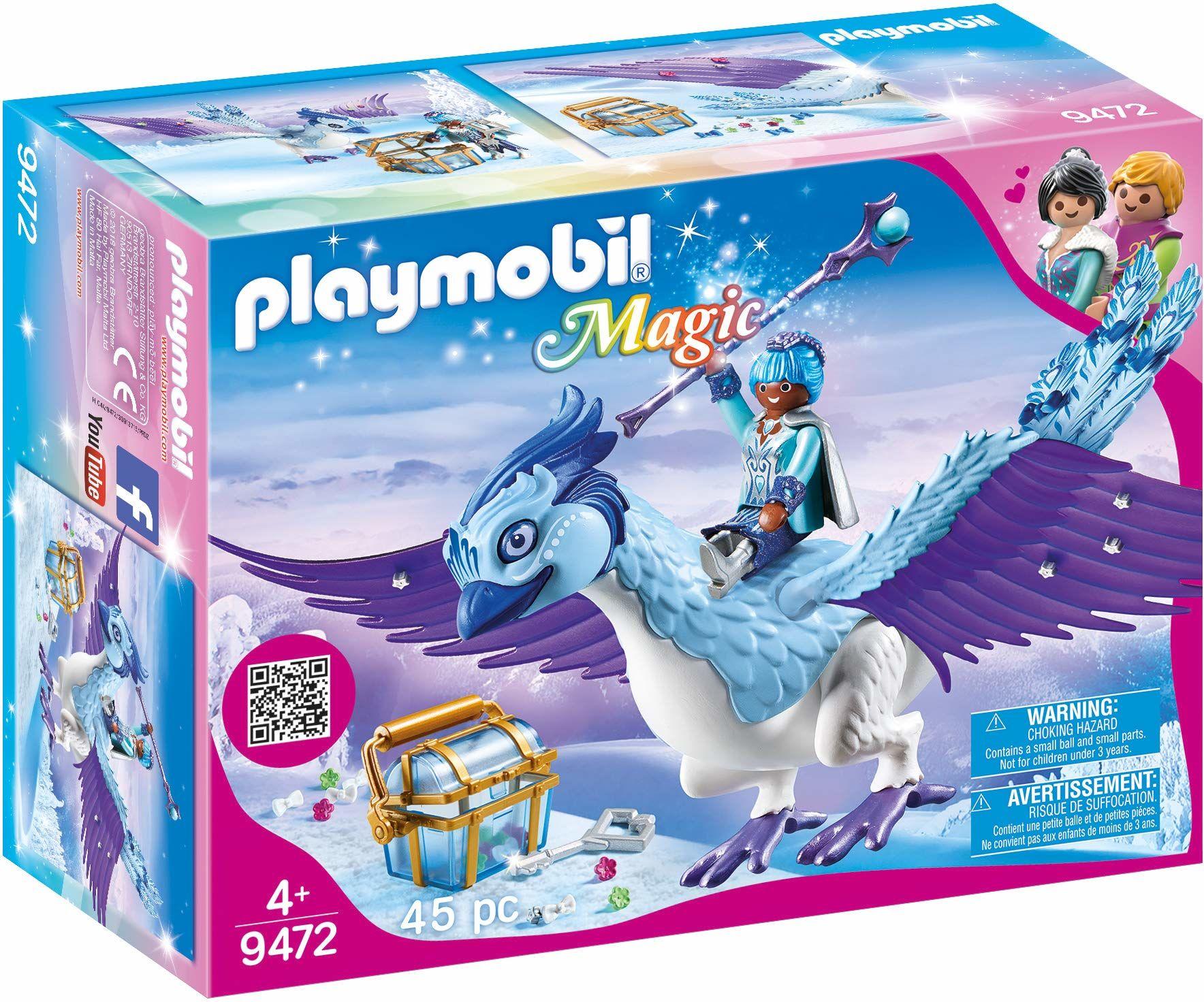 Playmobil 9472 Magic Zimowy Feniks, Wielokolorowy