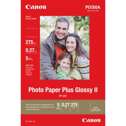 Papier CANON PP-201 Photo Paper Plus Glossy II 275g/m2, 20 ark. (13x18) (2311B018)