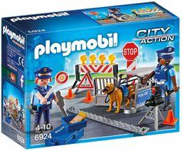 PLAYMOBIL City Action 6924 Blokada policyjna, od 4 lat