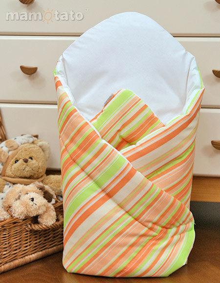 MAMO-TATO Rożek niemowlęcy Paseczki marchewkowe