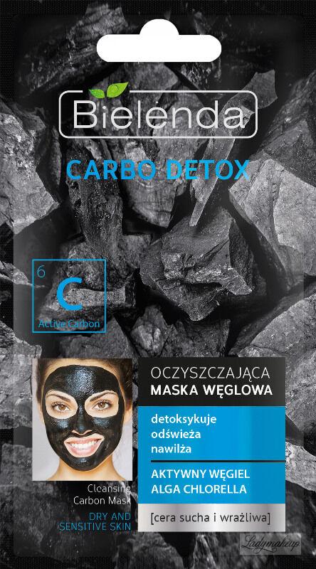 Bielenda - Carbo Detox - Cleansing Carbon Mask - Oczyszczająca Maska Węglowa