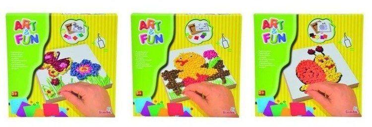 Papierowy zestaw, 3 rodzaje - Art&Fun