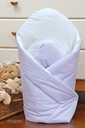 MAMO-TATO Rożek niemowlęcy usztywniony Fioletowy