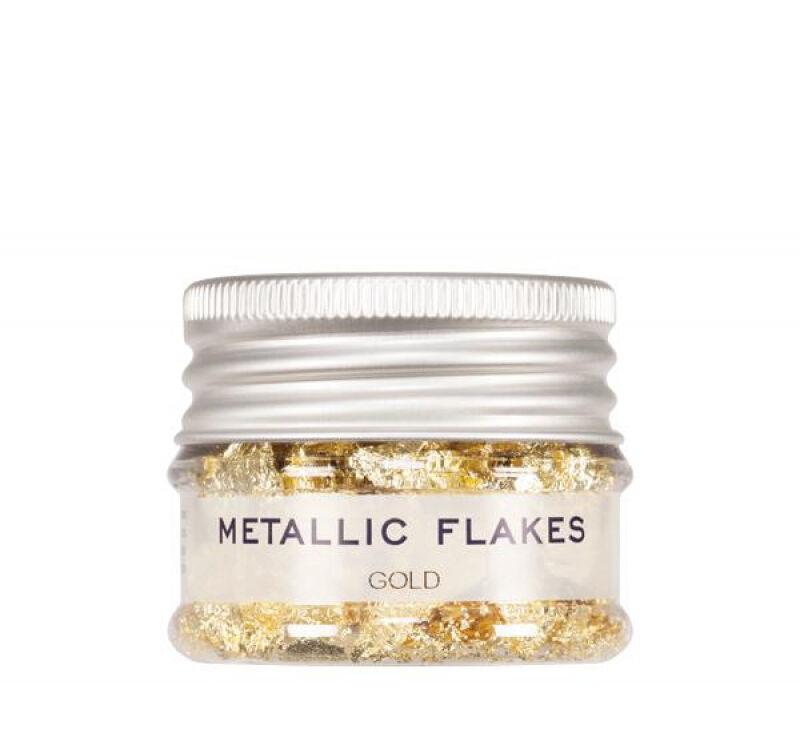 KRYOLAN - METALLIC FLAKES - Metaliczna folia w płatkach - ART. 03075/00 - GOLD