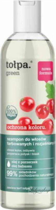 Tołpa - Green - Ochrona Koloru - Szampon do włosów farbowanych i rozjaśnianych - 300 ml