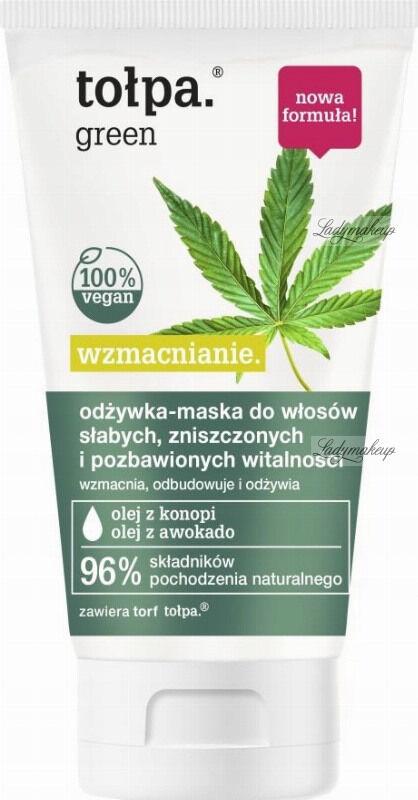 Tołpa - Green - Wzmacnianie - Odżywka - maska do włosów słabych, zniszczonych i pozbawionych witalności - 150 ml
