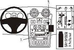 ProClip do Hyundai Coup 02-09