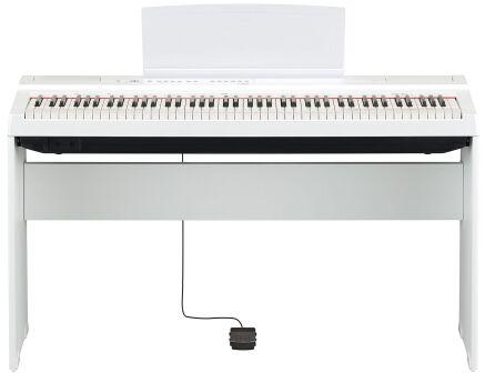 Yamaha L125 WH statyw do pianina Yamaha P 125 (biały)