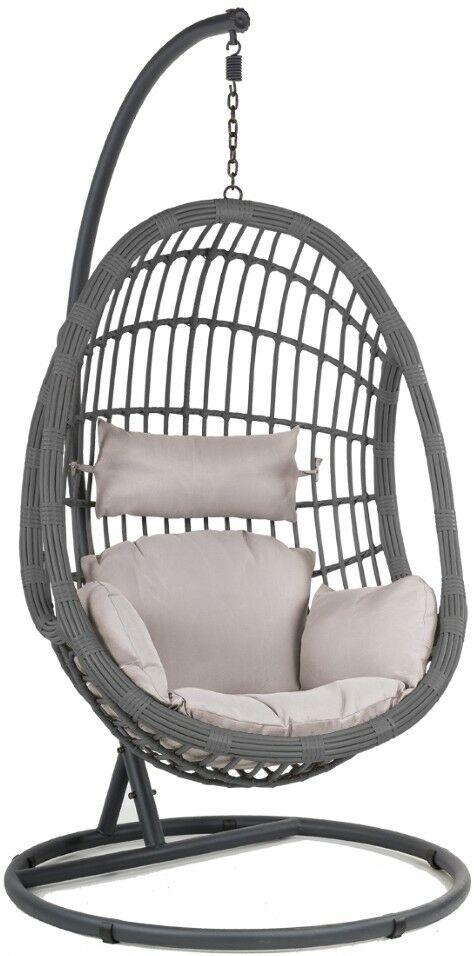 Fotel podwieszany MIA SIMPLE poduszka czarna